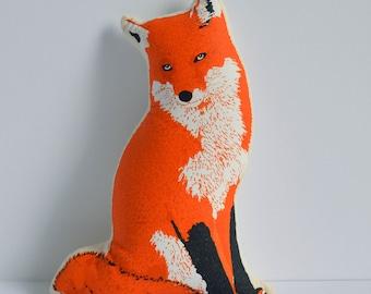 SALE - Silkscreen Fox Toy