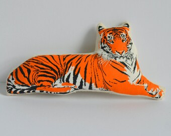 Silkscreen Tiger Toy
