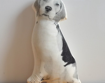 Silkscreen Beagle Pillow