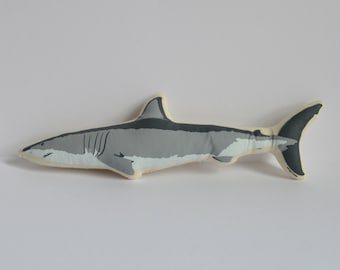 Silkscreen Shark Toy