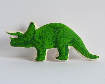 Silkscreen Triceratops Toy