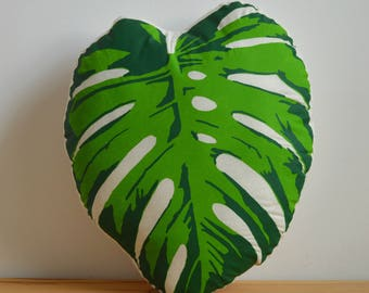 Monstera Pillow