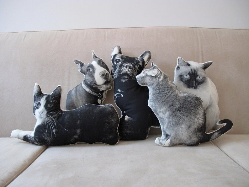 Custom Silkscreen Pet Pillow image 0