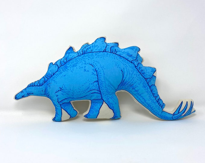 SAMPLE SALE Stegosaurus Pillow