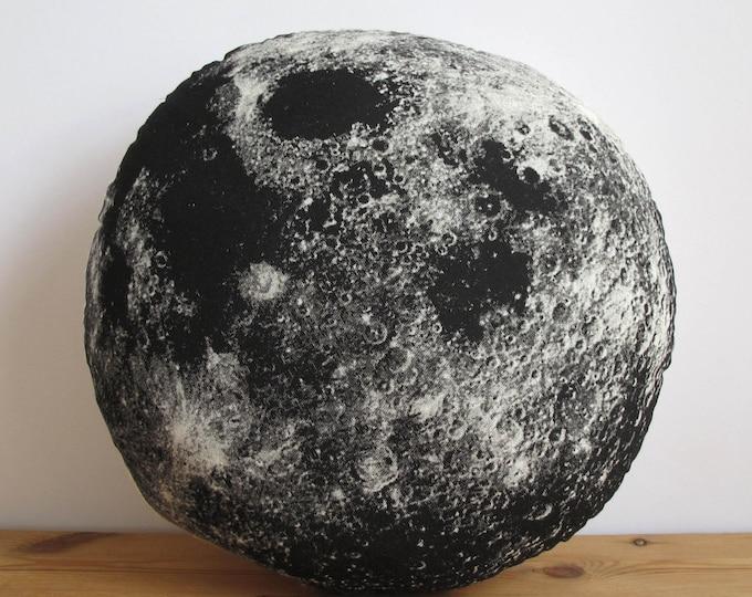Silkscreen Moon Pillow
