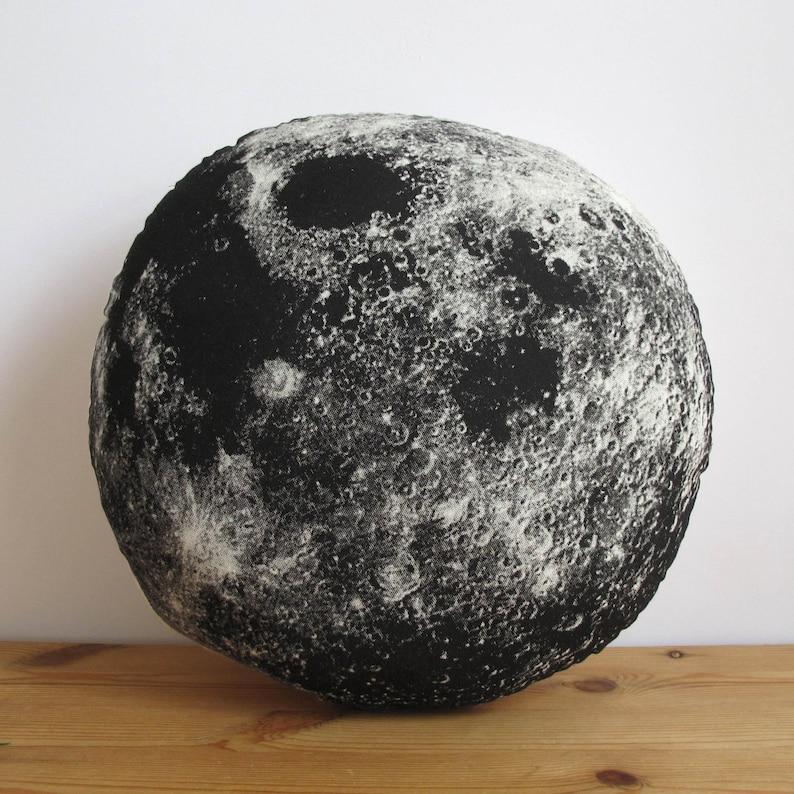 Silkscreen Moon Pillow image 0