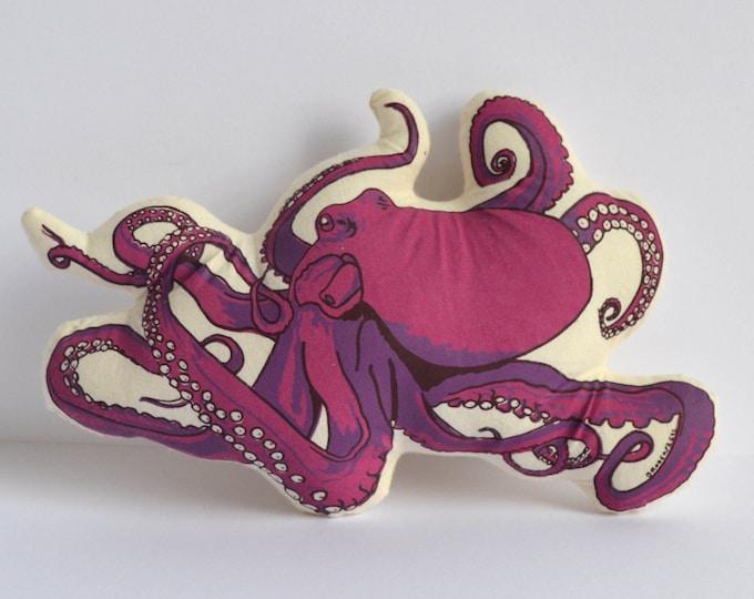 Silkscreen Octopus Toy
