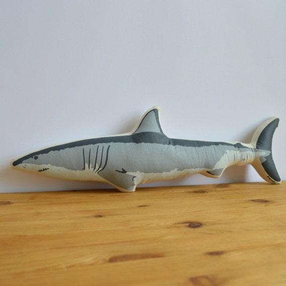 Siebdruck Hai Kissen