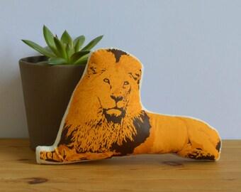 Silkscreen Lion Toy