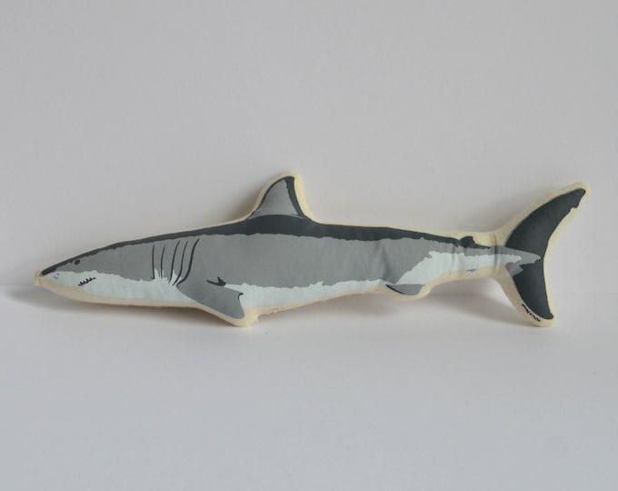 Silkscreen Shark Toy