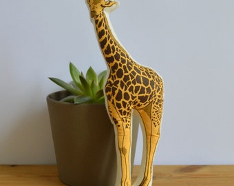 Silkscreen Giraffe Toy