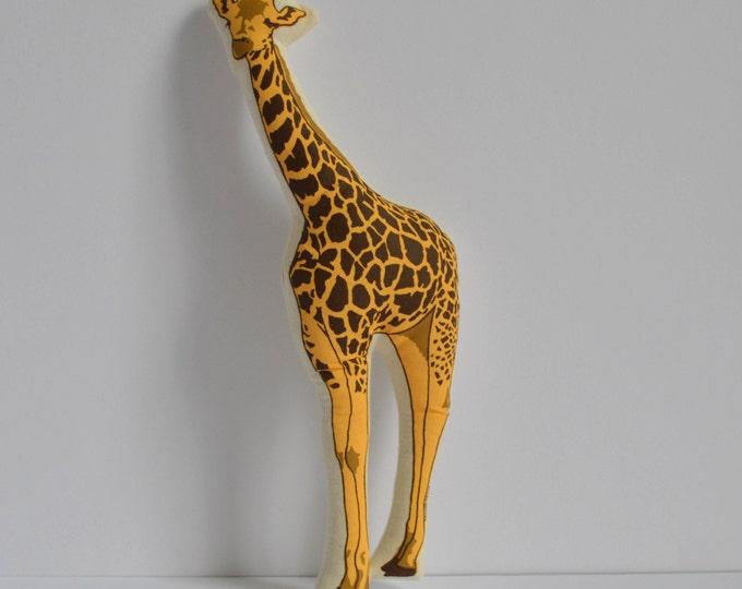 Silkscreen Giraffe Toy