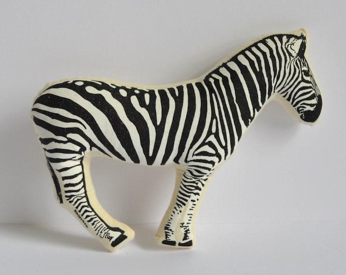 Silkscreen Zebra Toy