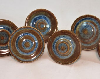 Orion and Opal ceramic artisan made drawer pulls made to order SHIPPING INCLUDED