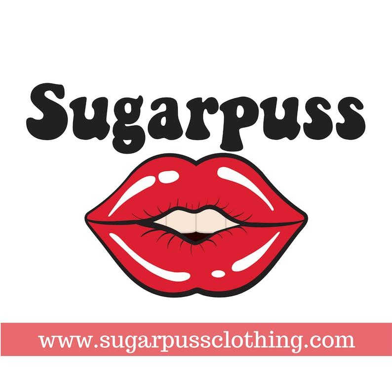 Sugarpuss STRING TIE BIKINI in 70s Palette Burnt Orange and Burgundy Triangle Top w Brazilian Scrunch Bottoms w Side Ties