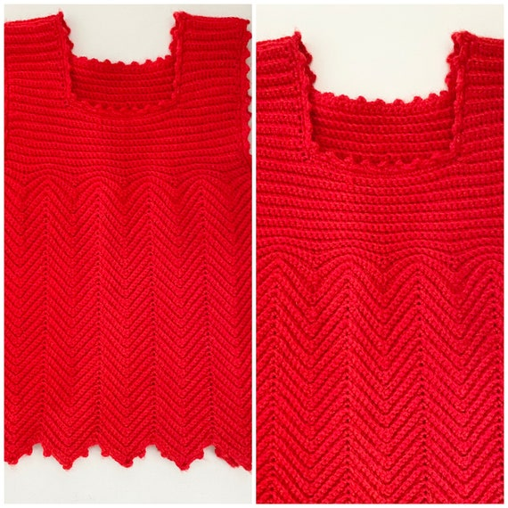 1940s Handknit Sweater Vest