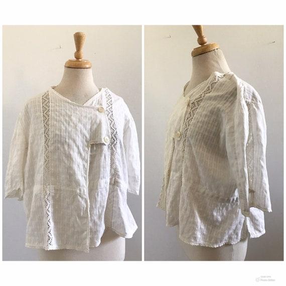 Edwardian Cotton Blouse