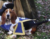 Three 3 Musketeer Dog Pet Costume outfit by MattiOnline on Etsy CUSTOM