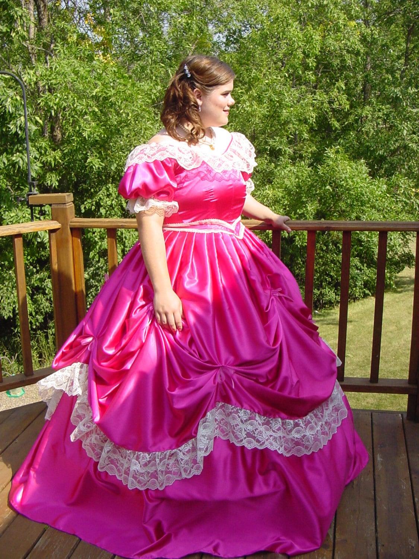 CUSTOM Victorian Bridal Civil War Steampunk Ball Gown Dress in | Etsy
