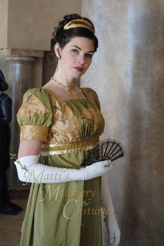 CUSTOM Diamond Evening Formal Regency Jane Austen Ball Gown | Etsy