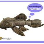 PATTERN - Pleco Plush