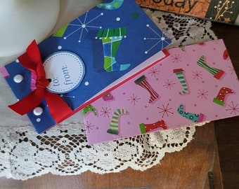 Stockings Coupon Book * Personalized * Christmas * For Her * For Him * Gift * Stocking Stuffer * Coupons