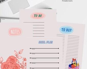 Home Planner List - Printable A4