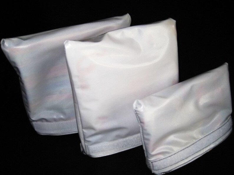 Reusable Earth Savvy Orange and Teal Sandwich and Snack Bag Set