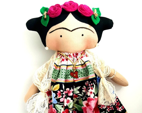 Mexican  doll children doll to girls small dolls  happy dolls mexican unique doll littles by Bella doll