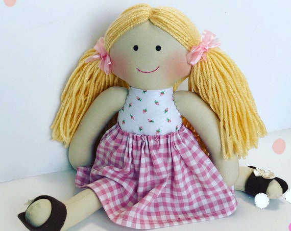 Baby First Doll cloth doll rag doll first birthday gift Children friendly embroider a name on baby born baby doll set baby doll for kids