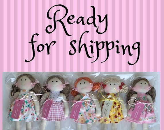 Ready for shipping - dolls