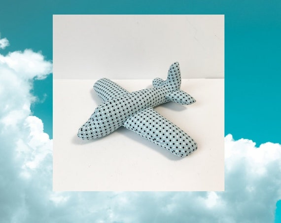 First airplane Plane Plush Airplane Plush Toy  Airplane Newborn toys little boys gift