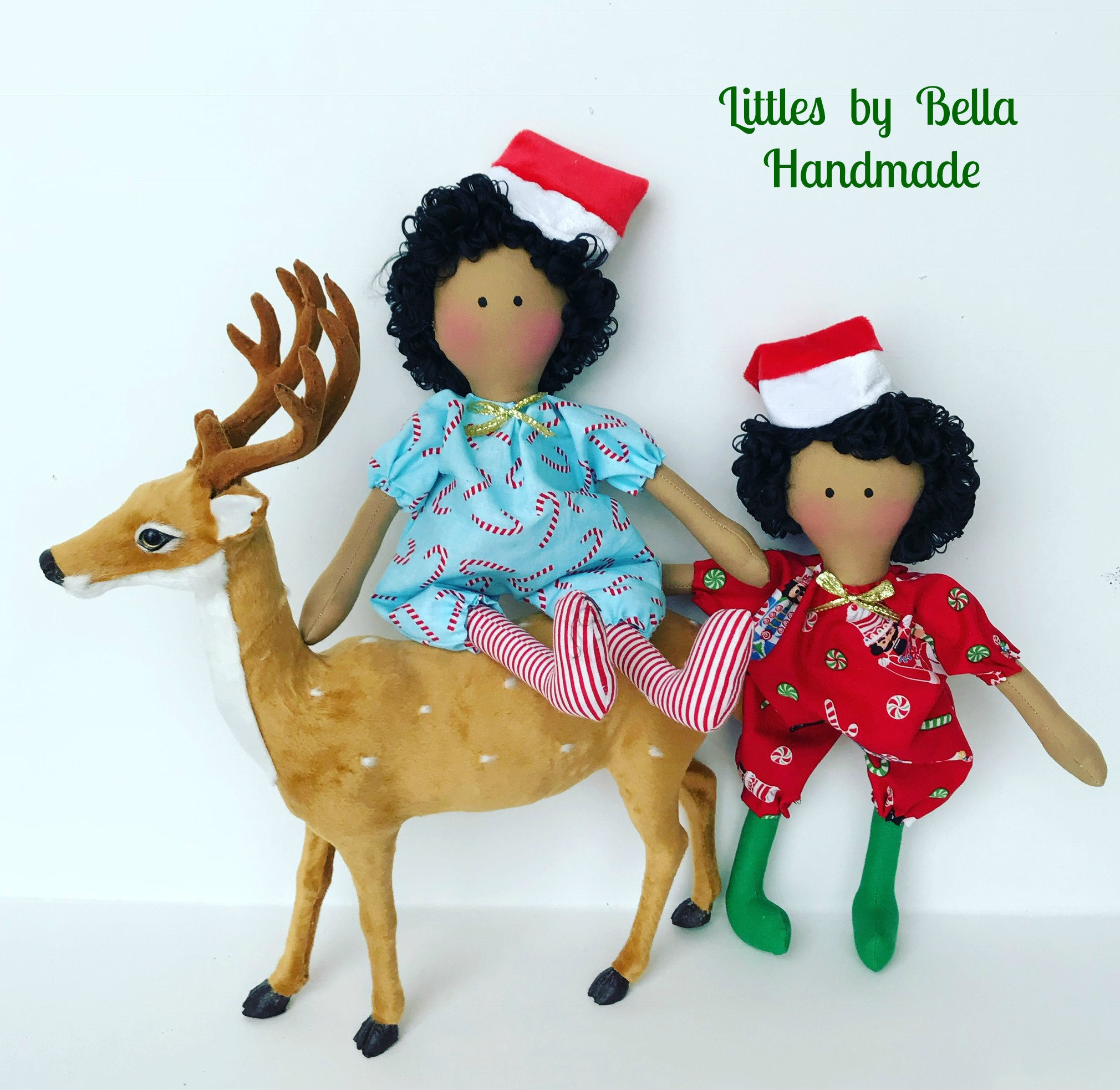 Black people Elve doll black people elfs doll snow flakes decoration ...