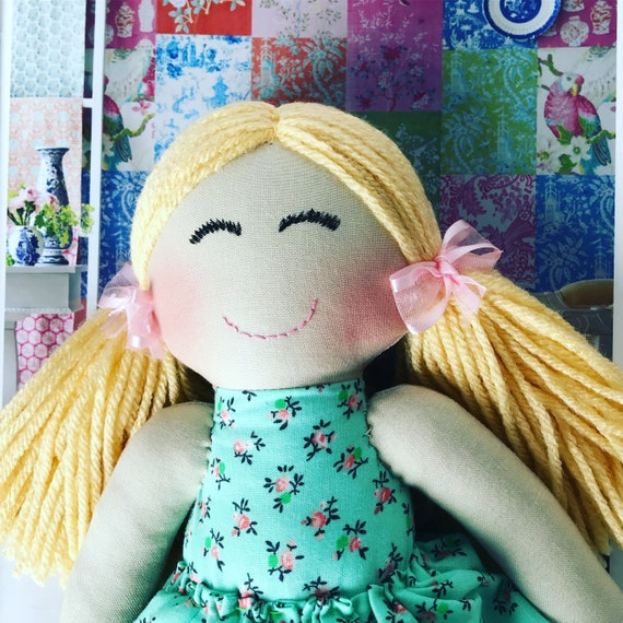 Smiling Baby First Doll cloth doll rag doll first birthday gift Children friendly embroider a name on baby born baby doll set baby
