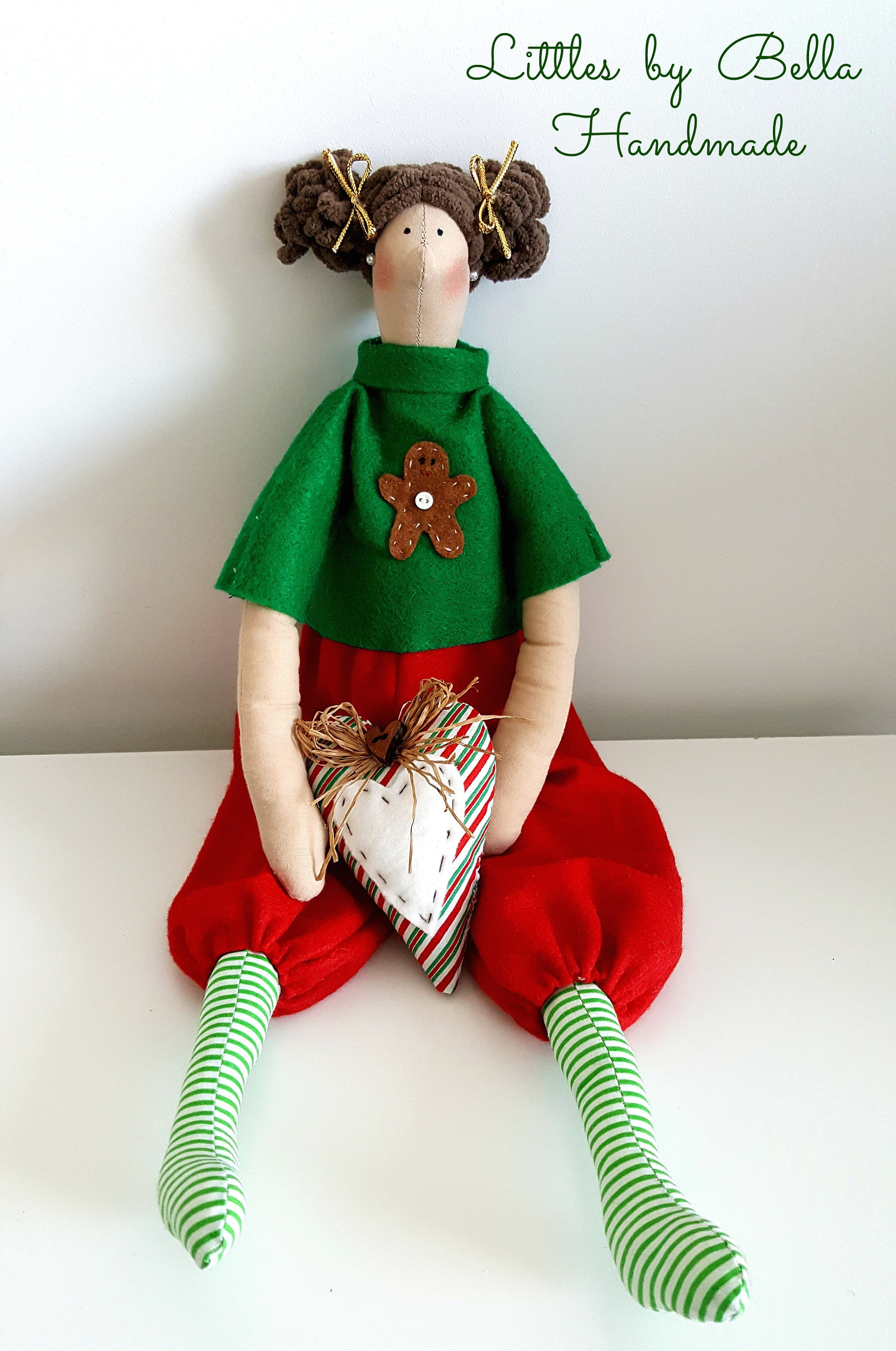 Christmas Toy Girls Christmas Home Decor Winter Gift Gnome Rag Doll