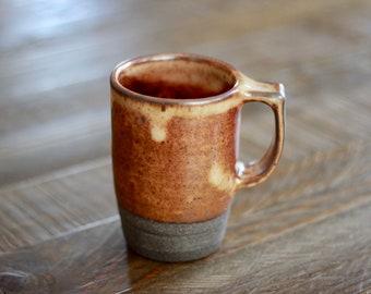 Tall Mug - Orange Shino