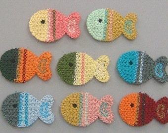 Crochet Fish Etsy