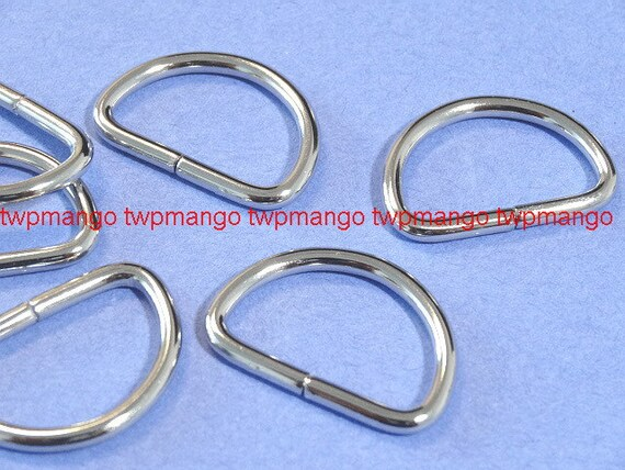 25-5//8/'/' Welded Dee Rings for Webbing Strap Heavy Tall D Ring