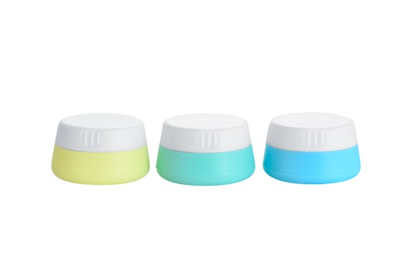 f43efca8bdf6 Silicone Cosmetic Containers Cream Jars With Lid, 3 Pack (20ml)