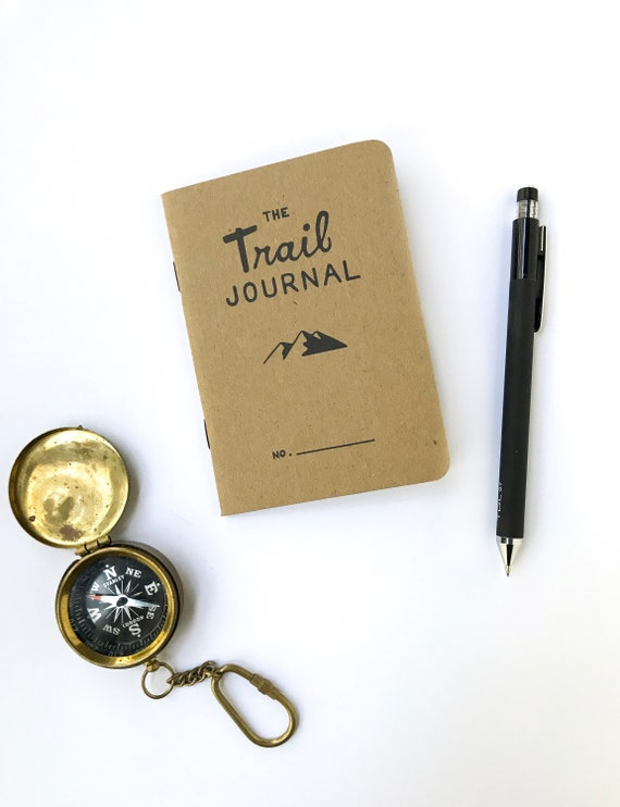 PRE-ORDER: The Trail Journal. Prompted Hiking Log. Pocket
