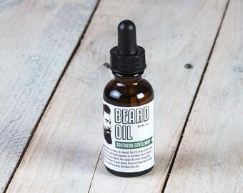 Southern Gentleman Beard Oil | 1 oz Beard Oil | Beard Conditioner | Hipster Gift | Beard Gift