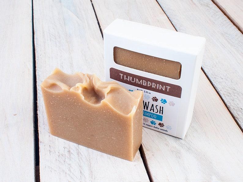 Wag Wash Dog Soap  Bar Soap for Dogs  Dog Shampoo  Shampoo image 0