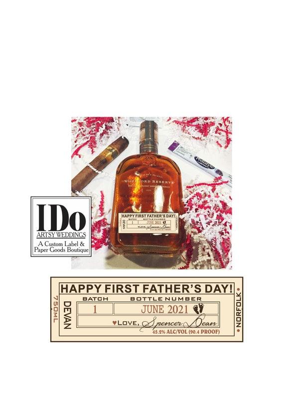 Set of 6 Alcohol Bottles Home 2DAY DELIVERY Engraved Liquor Decanter Labels