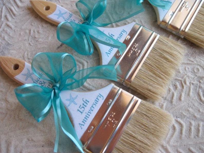 b1c3d0f9d Beach Wedding Paint Brush Anniversary Custom Sand Brushes