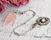 Rose Quartz Pendulum : Remembrance Collection