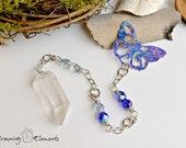 Clear Quartz Butterfly Pe...