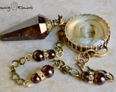 Garnet Pendulum : Remembrance Collection