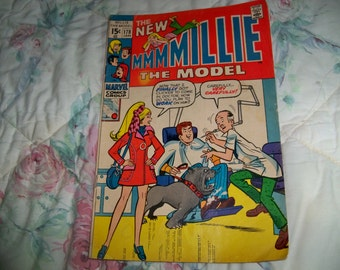 1970 millie the model comic