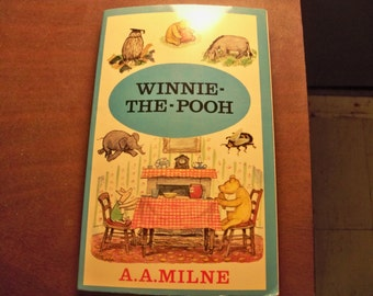 winnie- the -pooh paperback 1975