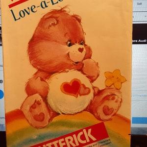 Vintage Care Bears Thanks Sunshine Card /& Envelope